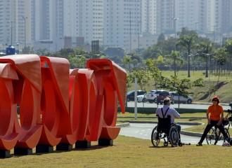Escultura de bicicleta de Gilberto Salvador