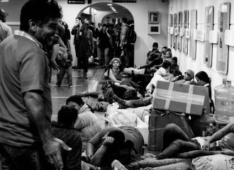 Movimento por moradia invadiu prédio do governo estadual