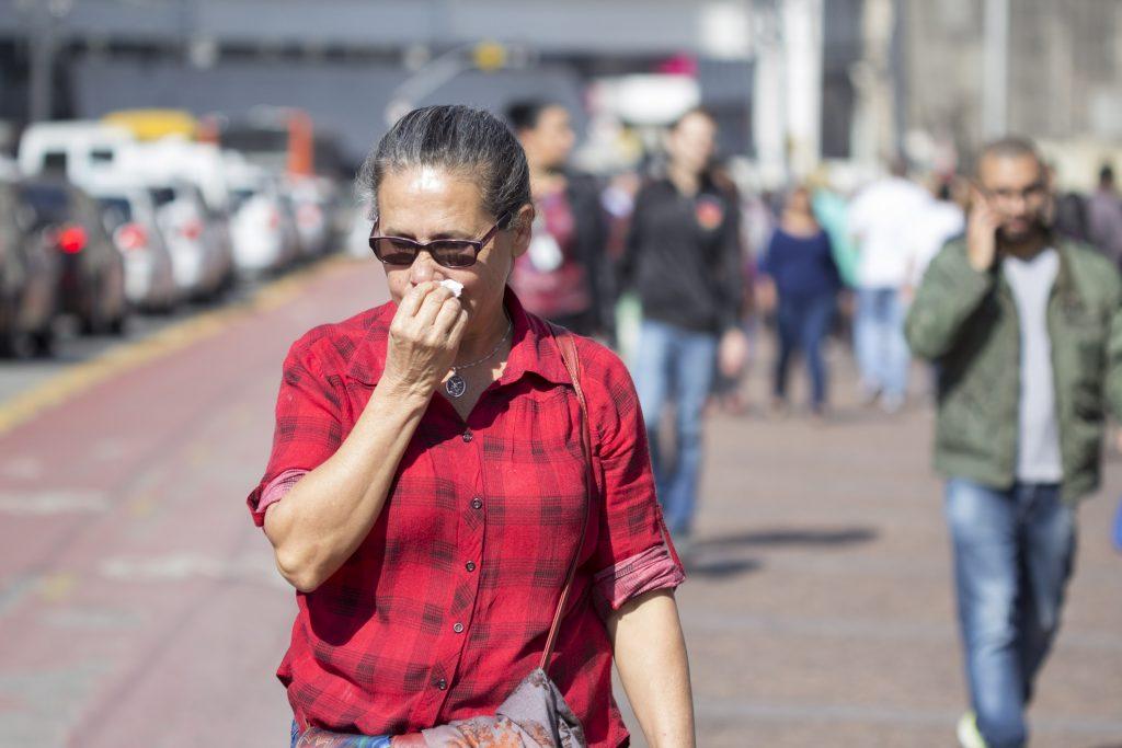 Clima seco em SP é o pior desde 2008